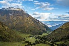 Trekking Pérou de Salkantay photo stock