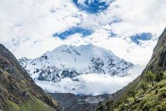 Trekking Pérou de Salkantay images stock