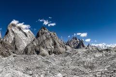 Trekking Pakistans Karakoram K2 stockfotografie