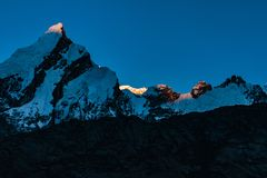 Trekking Pakistans Karakoram K2 stockfotos