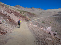 Trekking in Patagonia Stock Images