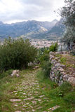 Trekking path Soller Royalty Free Stock Photography