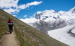Trekking Royalty Free Stock Photo