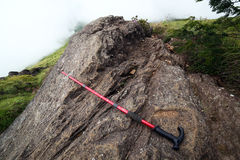 Trekking pole Stock Photography
