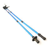 Trekking poles Stock Photography