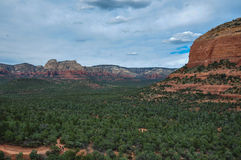 Trekking in Sedona, Arizona, USA Stock Image