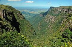 Trekking in Serra Geral National Park, southern Royalty Free Stock Photos