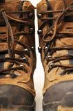 Trekking shoe Stock Photo