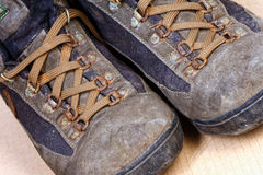 Trekking shoes Stock Photos