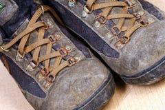 Trekking shoes Stock Photos
