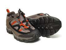 Trekking shoes Stock Photography