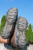 Trekking shoes Royalty Free Stock Image