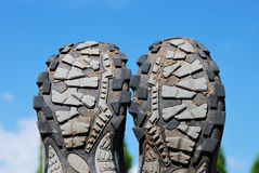 Trekking shoes Royalty Free Stock Photo