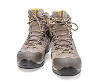 Trekking shoes Royalty Free Stock Photos