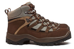 Trekking shoes Stock Image