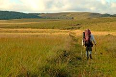 Trekking in southern Brazil. Serra Geral National Park, Rio Grande do Sul royalty free stock photos