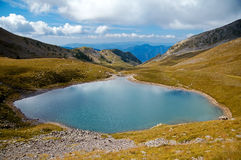 Trekking in a sud-est della Francia Immagine Stock