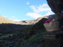 Trekking in Tanzania Immagine Stock Libera da Diritti