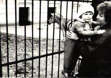 Trekking till zoo/Sovjetunionenet Royaltyfri Bild