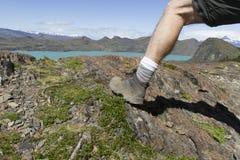 Trekking Torres del Paine Στοκ Φωτογραφίες