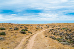 Trekking trail in Sardinia Royalty Free Stock Photography