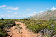 Trekking trail Royalty Free Stock Photos