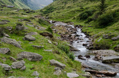 Trekking in val passiria Royalty Free Stock Photography