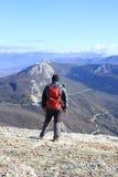Trekking w Kaukaz górach Fotografia Royalty Free