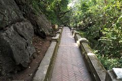 trekking way is good for travel Royalty Free Stock Photo