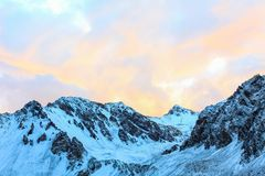 Trekking, zum von Aconcagua anzubringen Lizenzfreies Stockbild