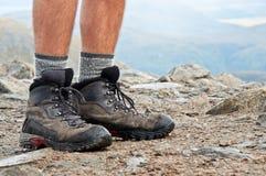 Trekkingsschuhe lizenzfreies stockbild