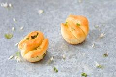 Trekkracht apart broodjes stock afbeelding