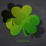 Treklöversidor för Sts Patrick dagberöm Royaltyfria Foton