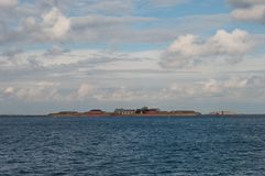 trekroner forteca w Kopenhaga w Dani Zdjęcia Royalty Free