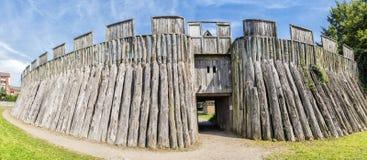 Trelleborg Viking Fort fotografering för bildbyråer