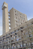 Trellick tower london. Image shows tower and flats of Trellick tower in london, england designed by Erno Goldfinger Stock Images