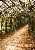 Trellis arches, Arkhangelskoe Royalty Free Stock Photos