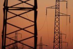 Trellis de l'électricité Images libres de droits
