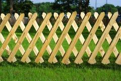 Trellis de madeira Fotos de Stock