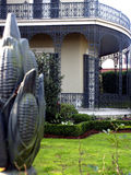 Trellis de Orleans Foto de Stock Royalty Free