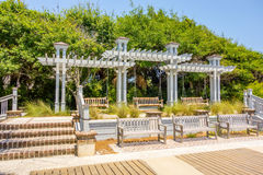 Trellis design canopy details Stock Photo