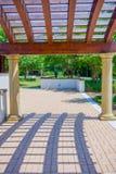 Trellis design canopy details Stock Images