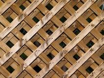 Trellis en bois Images libres de droits