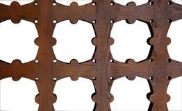 Trellis en bois images stock