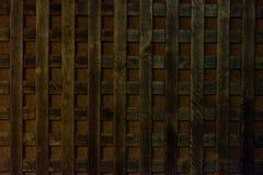 Trellis en bois Photos libres de droits