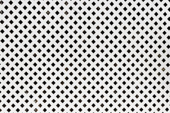Trellis en bois blanc de fond Configuration carrée Photos libres de droits
