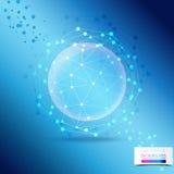 Trellis géométrique abstrait Images stock