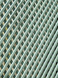 Trellis lattice fence panel pattern. Photo of a trellis fence panel with criss-cross lattice design ideal for pattern background etc stock photos