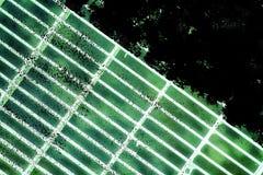 Trellis moulu en acier ultra vert de grunge Texture d'acier inoxydable, fond pour le site Web ou périphériques mobiles Image libre de droits
