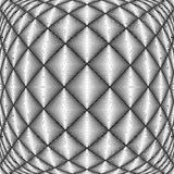 Trellised Muster des Designs nahtloser Diamant stock abbildung
